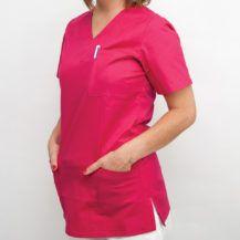 bluza-medyczna-czerwona-gdansk