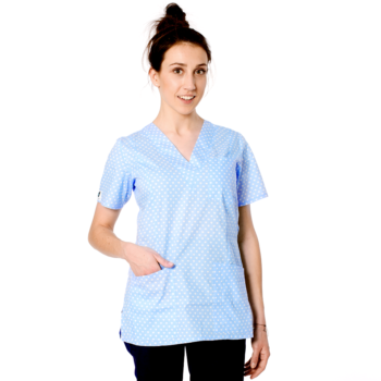 bluza-damska-medyczna-kokolu-gdansk-serca