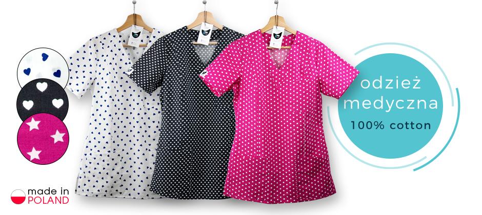 bluzy medyczne kokolu najwyższa jakość