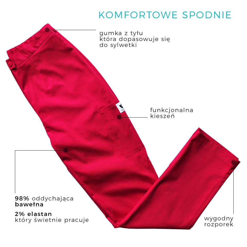 spodnie medyczne, kosmetyczne,spodnie kosmetyczne, Gdańsk, trójmiasto, odzież medyczna, kokolubeauty