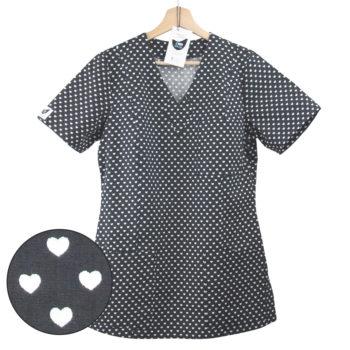 bluza medyczna grafitowa gdansk kokolu