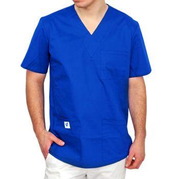 bluza-medyczna-meska-niebieska-gdansk-kokolu