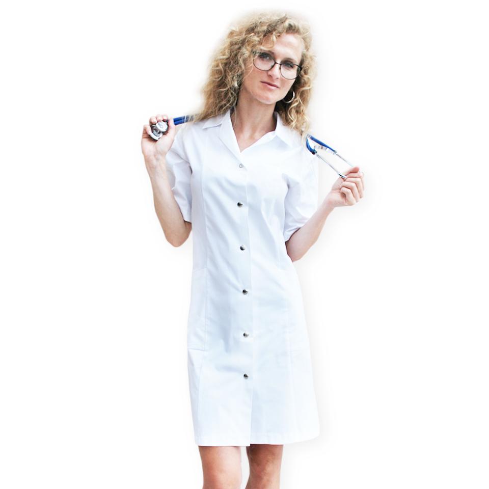fartuch medyczny biały kokolu gdansk