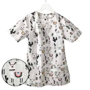 bluza-medyczna-damska-lamy-kokolu-szara