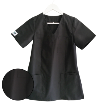 bluza-medyczna-damska-czarna-kokolu-gdansk