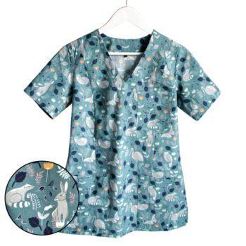 bluza-medyczna-damska-las-kokolu-gdansk