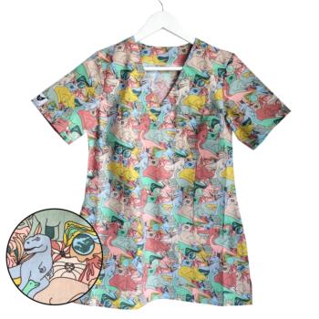 bluza-medyczna-damska-dino-kokolu-trojmiasto