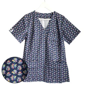 bluza-medyczna-damska-kwiat-kokolu-trojmiasto
