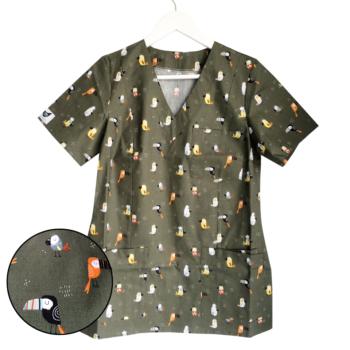 bluza-medyczna-damska-ptaki-kokolu