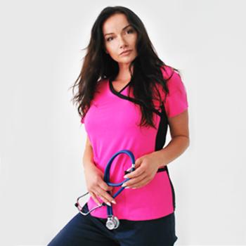 bluza-medyczna-różowa-sportowa-kokolu-11