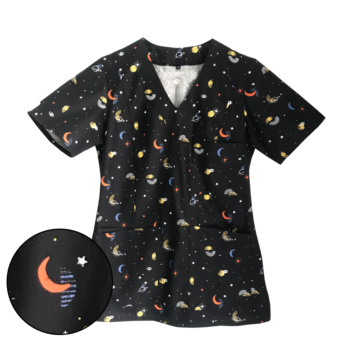 bluza-medyczna-damska-kosmos-kokolu-trojmiasto