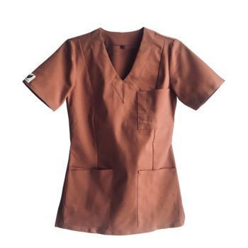 bluza-medyczna-damska-mokka-kokolu